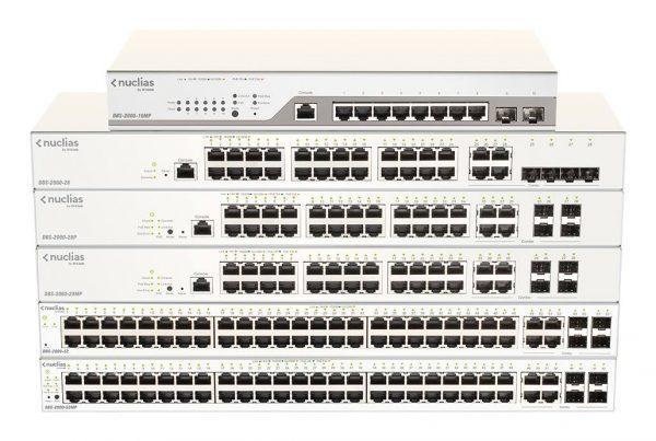 Switches gérés dans Nuclias Cloud Série DBS‑2000
