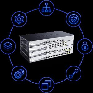 D-Link DXS 1210-16TC Smart Switch 16 ports