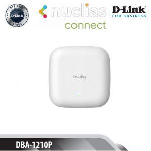 D-Link Point d'accès Nuclias Cloud Wi‑Fi AC1300 Wave 2 PoE Dual Band-DBA‑1210P-
