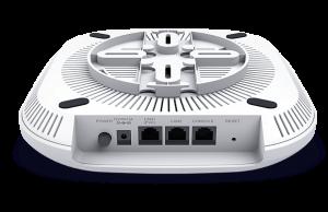 D-Link Point d'accès Nuclias Cloud Wi‑Fi AC2600 Wave 2 PoE+ Dual Band-DBA-2820P-