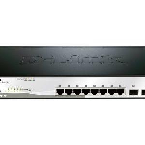 D-Link Smart Switch 8 ports Géré-DGS-1210-10-