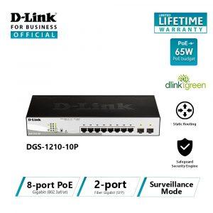 D-Link Web Smart DGS-1210-10P