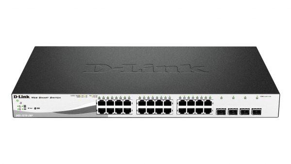 D-Link Web Smart DGS-1210-28P Géré