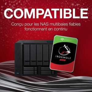 Seagate IronWolf 2 To NAS ST2000VN004