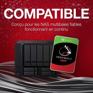 Seagate IronWolf 4 To NAS ST4000VN008 1