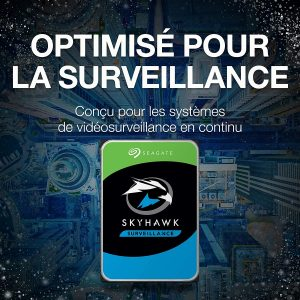 Seagate SkyHawk 10 To Vidéosurveillance-ST10000VX0004-