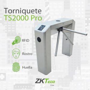 Tourniquet tripode TS2000 Pro ZKTeco