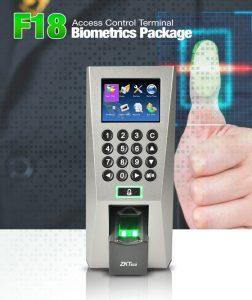 ZKTeco Contrôle d'accès empreinte digitale-F18-