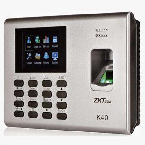 Zkteco Pointeuse à Empreinte digitale et badge (K40)