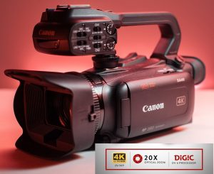 Canon Caméscope professionnel XA40 4K-3666C003AA-