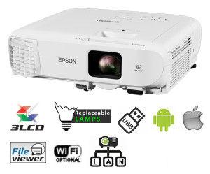 Epson Vidéoprojecteur EB-X49 Professionnel 3LCD XGA 3600 Lumens-V11H982040-