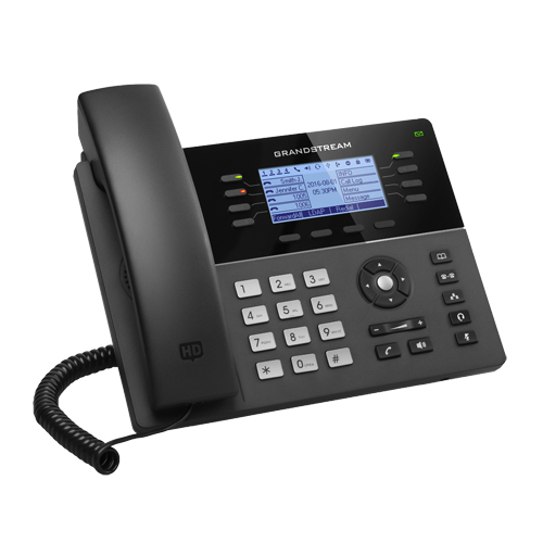 Grandstream Téléphone IP 4 comptes SIP et 2 ports Gigabit GXP1782
