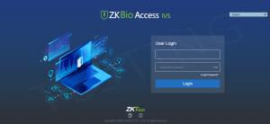 Logiciel de contrôle d'accès ZKBioAccess IVS