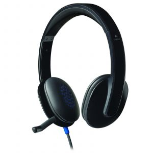 Logitech Casque-micro H540 USB-981-000480-