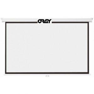 Oray Ecran de projection Cineflex mural 180 x 180 cm-MPP01B1180180-