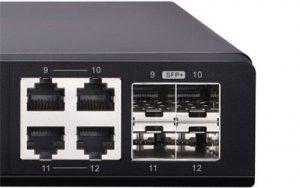 Qnap Switch 12 ports non géré rack-QSW-1208-8C-