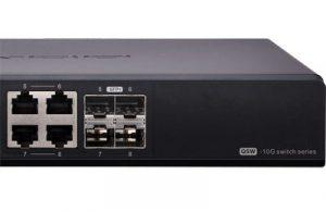 Qnap Switch 8 ports 10 Gigabit Ethernet non géré-QSW-804-4C-