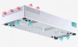 Qnap Switch 8 ports Gigabit LAN + 3 ports 10G SFP+ -QSW-308S-