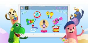 Une salle de classe et un terrain de jeux numériques