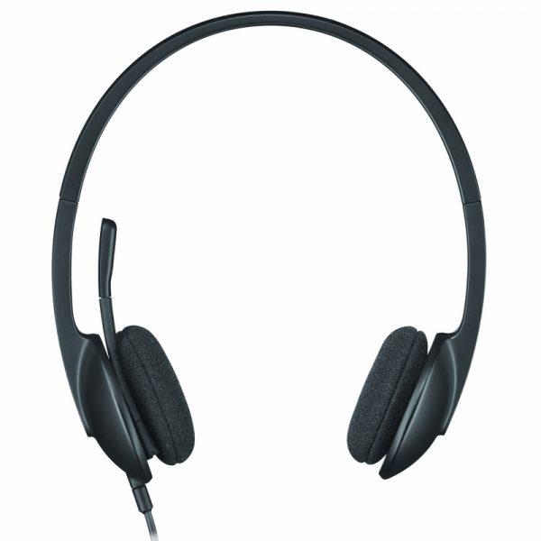 981-000475-Logitech Casque H340 Filaire Sur-oreille USB