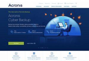 Acronis Cyber Backup Standard Server