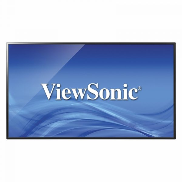 CDE4302 ViewSonic Ecran dynamique 43 LED Full HD a eclairage direct lecteur multimedia integre 24H