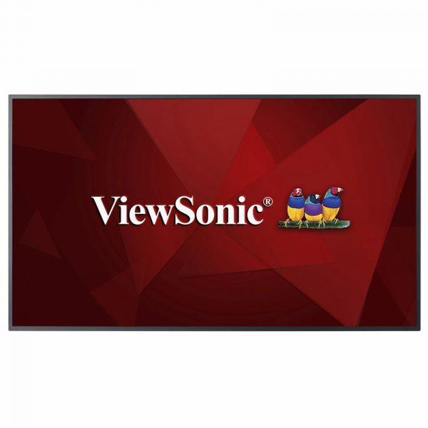 CDE6510-ViewSonic Écran professionnel commercial LED 65″ 4K 16h&7