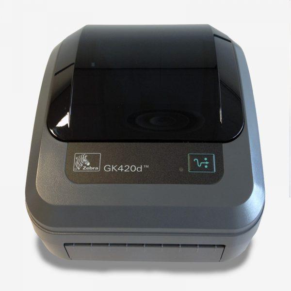 GK420D Zebra Imprimante detiquettes thermique direct USB LAN