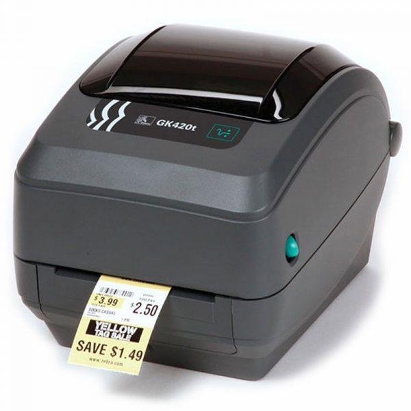 GK420T Zebra Imprimante detiquettes thermique direct 203 dpi