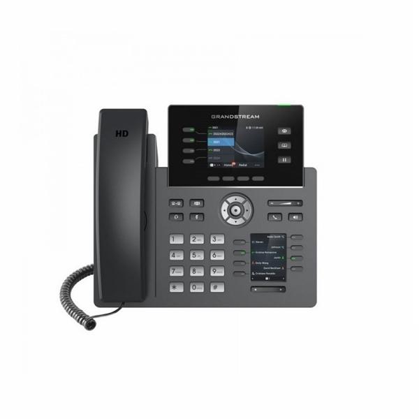 GRP2614-Grandstream Téléphone IP multifonctions LCD HD 4 SIP Wifi Et Bluetooth