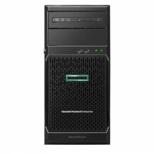 P16926 421 HPE Serveur ProLiant ML30 Gen10 Xeon E 2224 8GB DDR4 350W