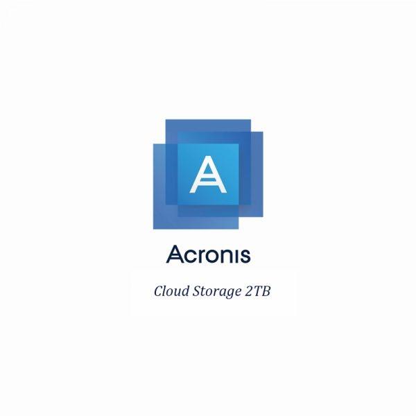 SCDBEBLOS31-Acronis Cloud Storage 2TB