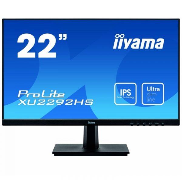 "XU2292HSU-B1-IIyama Moniteur ProLite 22"" Full HD VGA HDMI DisplayPort"