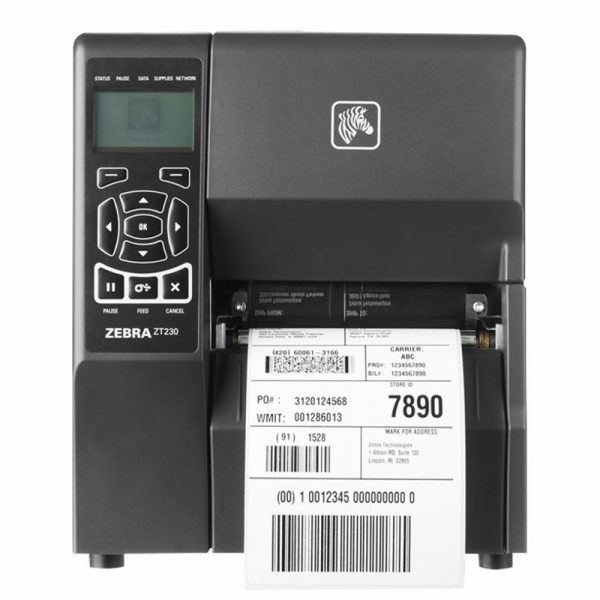 ZT230 Zebra Imprimante a thermique direct 203 dpi Ethernet