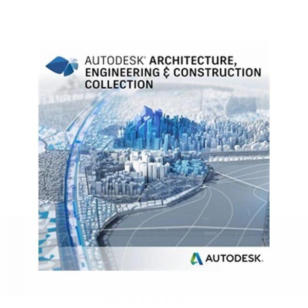 02HI1-WW8500-L937-Autodesk Architecture Engineering & Construction Collection Abonnement un an monoposte