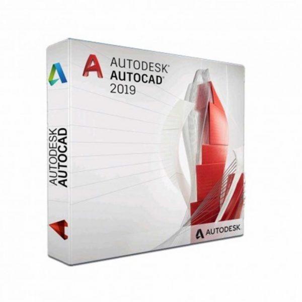 057K1-WW3033-T744-Autodesk AutoCAD LT 2019 Commercial Nouveau ELD mono-utilisateur 3 ans