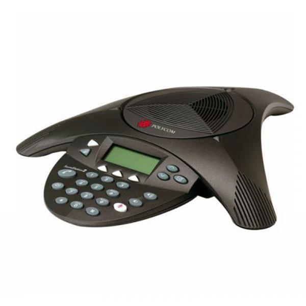 2200 16000 107 Polycom Telephone Soundstation 2 de conference analogique pour petite salle