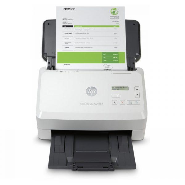 6FW09A B19 HP Scanner de documents ScanJet Enterprise Flow 5000 s5 USB 3.0