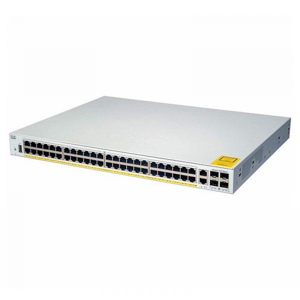 C1000-48T-4G-L-Cisco Switch Catalyst 1000 48 ports Gigabit Ethernet + 4 ports SFP Géré