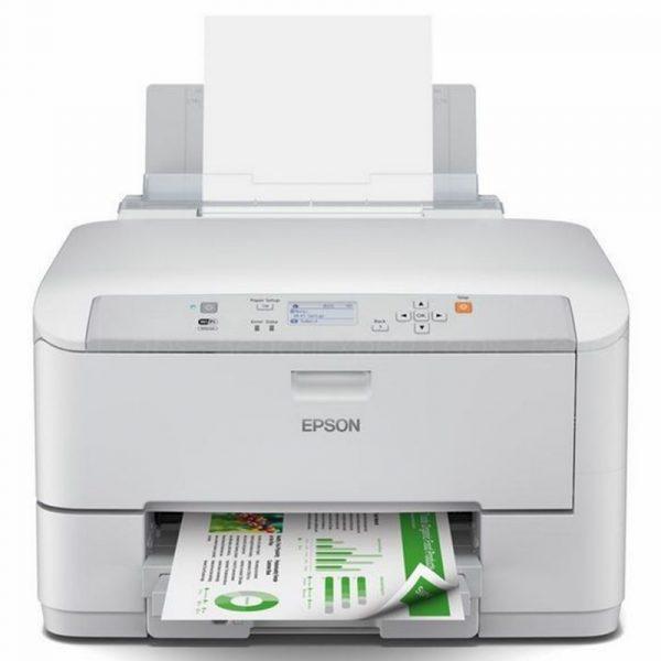 C11CD12401-Epson Imprimante jet d'encre WorkForce Pro WF-5110DW Recto et Verso