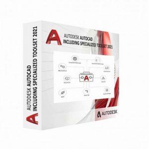 C1RK1-WW8644-T480-Autodesk Licence AutoCAD avec des outils spécialisés AD 1 Utilisateur 3 ans