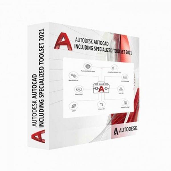 C1RK1-WWN887-T546-Autodesk AutoCAD avec des outils spécialisés AD Multi-utilisateur 1 an