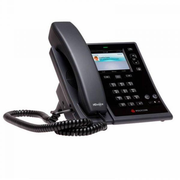 CX500-Polycom Téléphone IP SIP Ecran couleur sonore HD PoE