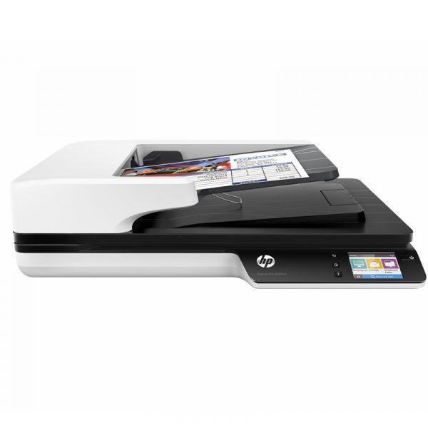 L2749A#B19-HP Scanner de documents Scanjet Pro 4500 fn1 USB 3.0 Gigabit LAN Wi-Fi