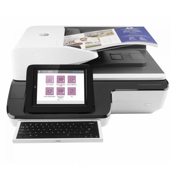 L2763A-B19-HP Scanner de documents ScanJet Enterprise Flow N9120 fn2 USB 2.0 Gigabit LAN