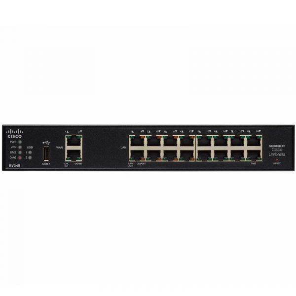 RV345-Cisco Routeur VPN avec 16 Ports Gigabit double WAN
